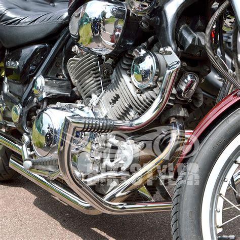 yamaha virago xv 750 xv 1100 crash bars engine guard w pegs protector ebay