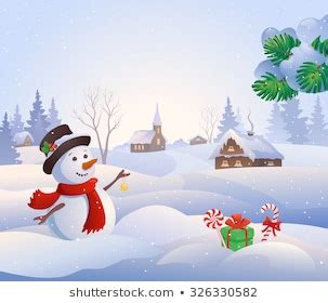 Snowman Cartoon Images, Stock Photos & Vectors | Shutterstock
