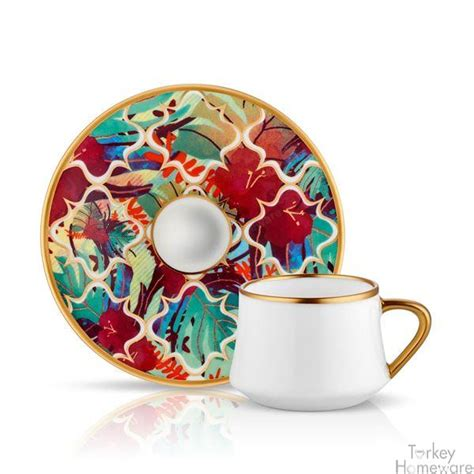 Inside the turkish coffee cups , you will be able to see a middle line. Turkey Ottoman unique style online store designed by the best designers of Turkey elegant ...