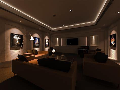 3ds Max  Media Room Lighting Render  Freelance 3d