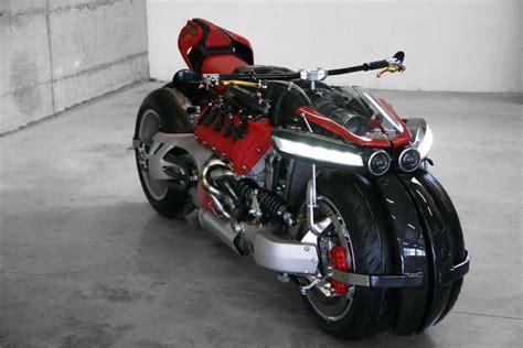 lazareth lm  maserati engine powered motorcycle