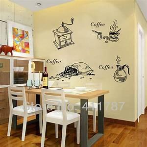 Home decor cofffee pattern dining room kitchen wall art