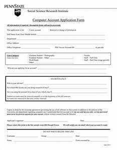 9 account application form templates free pdf format With new account application form template