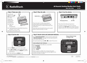 Radio Shack 12 521 Users Manual