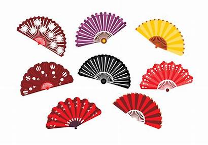 Fan Spanish Vector Hand Japanese Vol Accessories