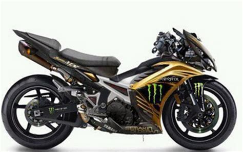 Modifikasi Jupiter Mx King by Contoh Modifikasi Jupiter Mx King Paling Sporty Di 2017