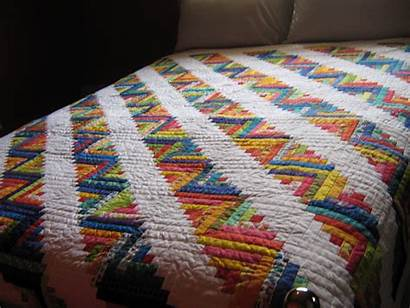 Cabin Quilt Log Quilts Cabins Bedding Quilter
