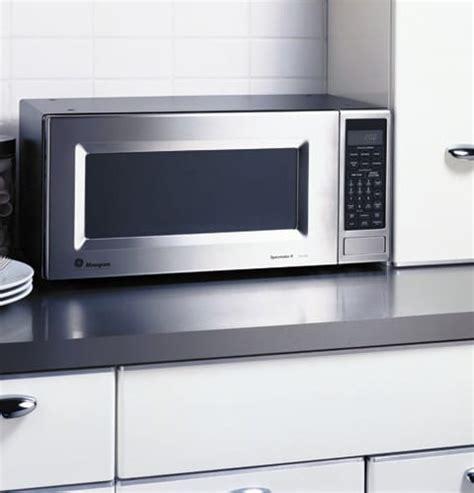 monogram zemsf  cu ft countertop microwave oven   cooking watts  power levels