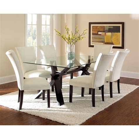 extendable glass dining room table glass kitchen dining tables wayfair table clipgoo