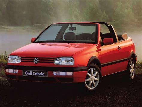 Volkswagen Golf Iii Cabrio1e 20i 115 Hp