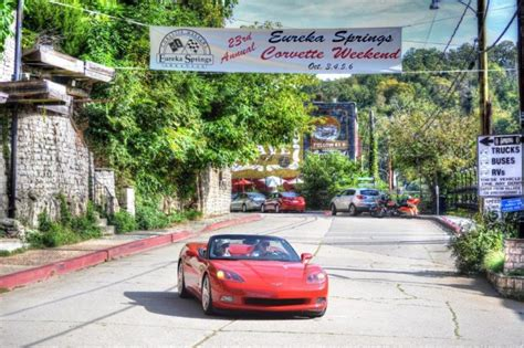 eureka springs corvette weekend remember  short