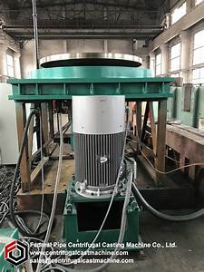Vertical Centrifugal Casting Machine