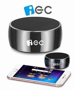 Bluetooth Lautsprecher Für Pc : iec mini bluetooth lautsprecher aus reinem edelstahl f r smartphone tablet und pc ~ Eleganceandgraceweddings.com Haus und Dekorationen