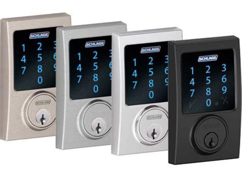 wave schlage deadbolt connect alarm built lock security