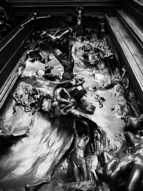 auguste rodin la porte de lenfer sculpture realism