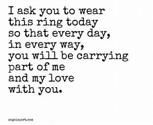 beautiful as part of a ring exchange angelaportcom vows With wedding ring exchange quotes