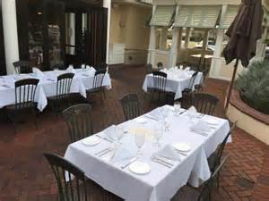 garden patio rehearsal dinner picture of bahama s restaurant bar destin tripadvisor