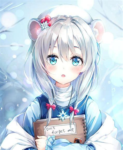 White Hair Anime Girl Pfp Anime Wallpaper Hd