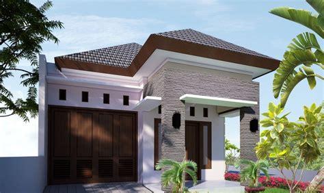 desain rumah kecil mewah
