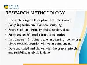 writing research methodology example