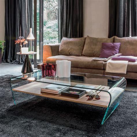 mensola di vetro amaranto 6811 tavolino tonin casa in vetro con mensola