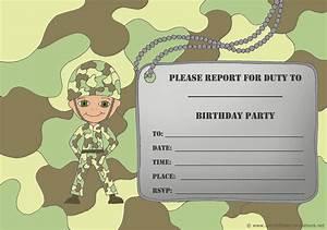 14 Printable Birthday Invitations: Many Fun Themes