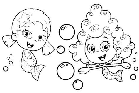 bubble guppies coloring pages overview  great sheets