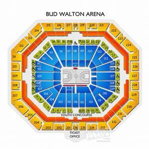 Bud Walton Arena Diagram