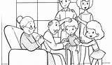 Coloring Pages Colouring Print Preschoolers Preschool Printable Families Getcolorings Easy Template sketch template