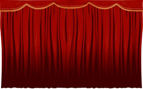 Animated Stage Curtains Gif