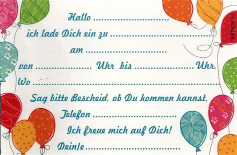 einladungskarten kindergeburtstag zum drucken geburtstag