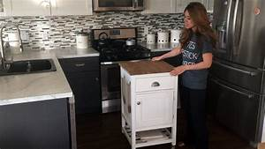 How, To, Build, A, Kitchen, Island, Prep, Cart, With, Ana, White