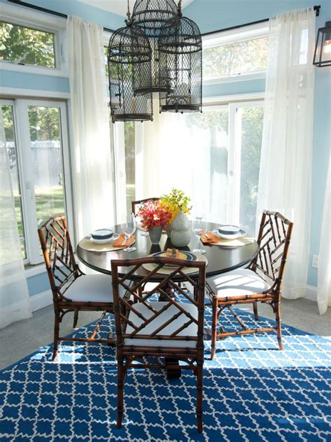 dineing room coastal kitchen and dining room pictures hgtv
