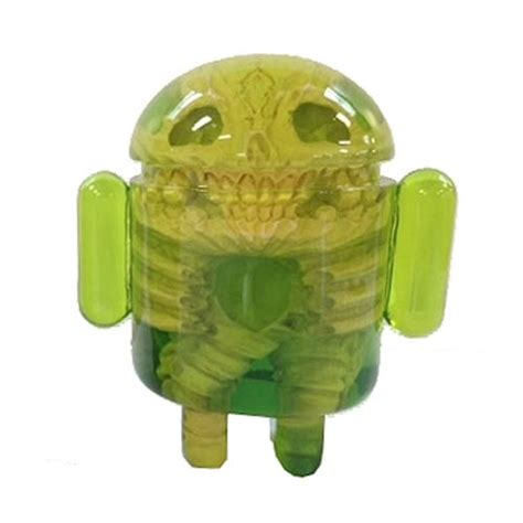 android figures android infected version by wilkowski resin figure
