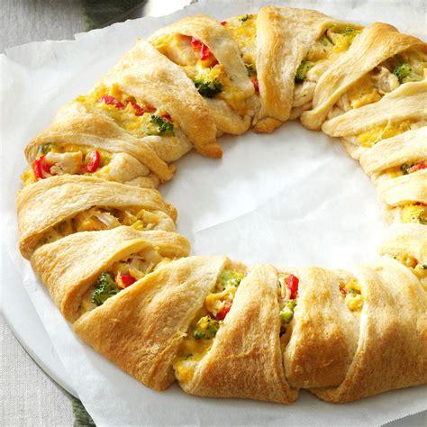 chicken crescent wreath recipe taste  home