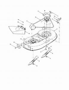 Troy Bilt Pony Deck Spring Diagram