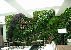 Mur De Fleur Artificielle : 2014 ventail plante artificielle fleur mur avec verdure plante artificielle mur int rieur ~ Teatrodelosmanantiales.com Idées de Décoration