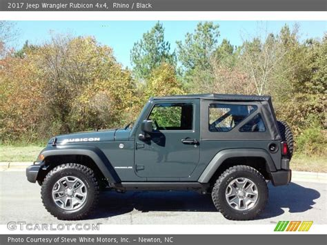 jeep rhino color 2017 rhino 2017 jeep wrangler rubicon 4x4 black interior