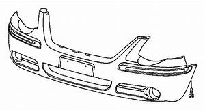 2005 Chrysler Town  U0026 Country Fascia  Front  Primed