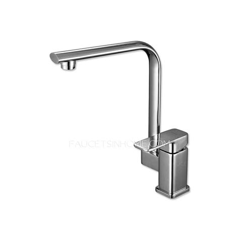 square kitchen faucet modern square shaped single handle kitchen faucets