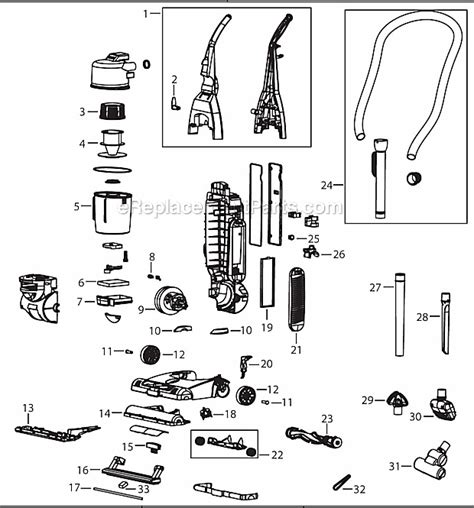 bissell 4104 parts list and diagram ereplacementparts