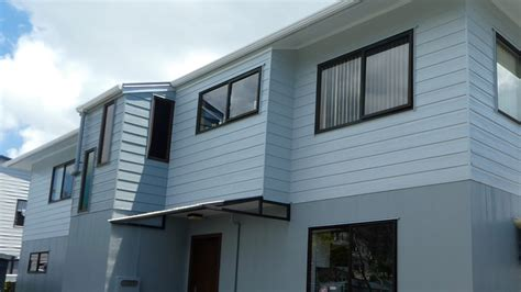 exterior house colour schemes by the house painters in auckland