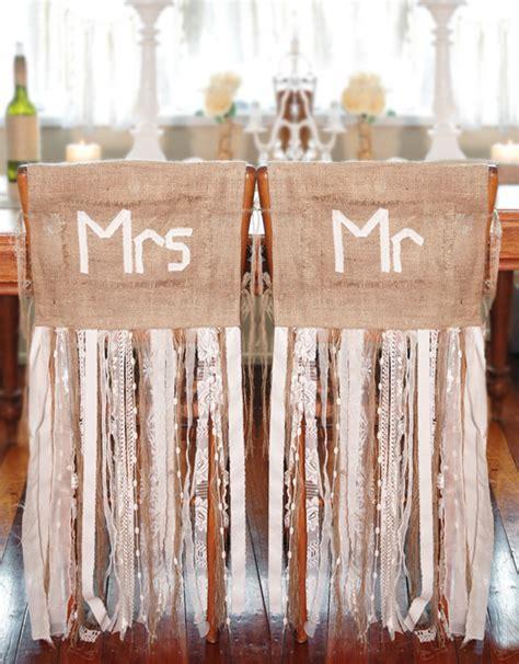 10 creative chair decor ideas intimate weddings small