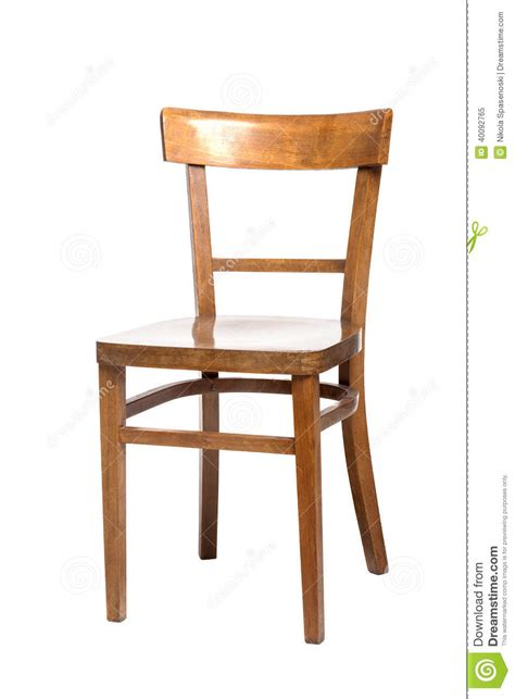 wooden chair stock photo image 40092765