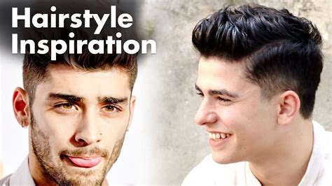 zayn malik hairstyle mens haircut youtube