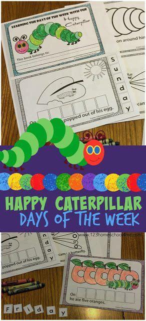 hungry caterpillar days   week printable book