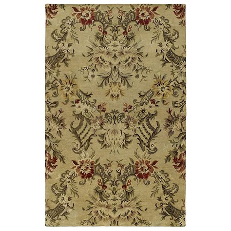lowes rugs 8x10 shop kaleen magi rectangular multicolor floral wool area