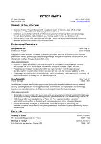sales resume sles free quality analyst resume doc