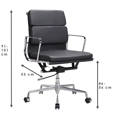 eames office chair low back soft pad white 163 320 78