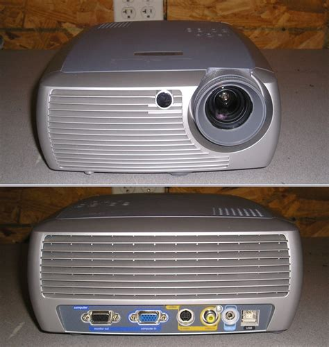 infocus x1 dlp media projector 1080i 1100 lumens tested